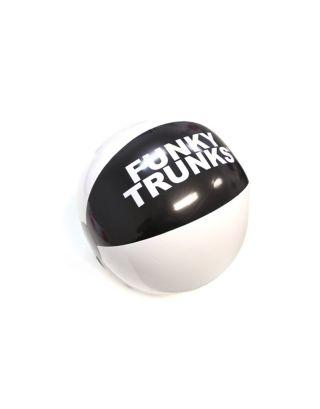 FUNKY TRUNKS - PALLONE DA SPIAGGIA - BEACHBALL - FTP003N - BLACK/WHITE