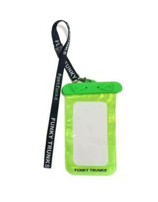 FUNKY TRUNKS - CUSTODIA SUBACQUEA - UNDERWATER PHONE CASE - FTP010N00797 - GREEN/BLACK