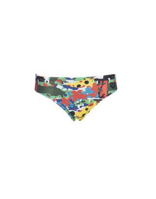 ARENA - COSTUME SLIP BIMBO - CAMOUFLAGE JR - 002955500 - BLACK/MULTI - MAXFIT