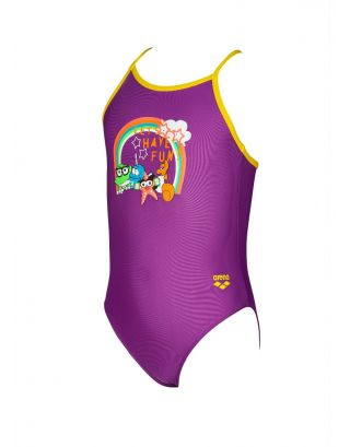 ARENA - COSTUME INTERO BIMBA - AWT GIRL - 002046779 - PROVENZA/YELLOW - MAXFIT