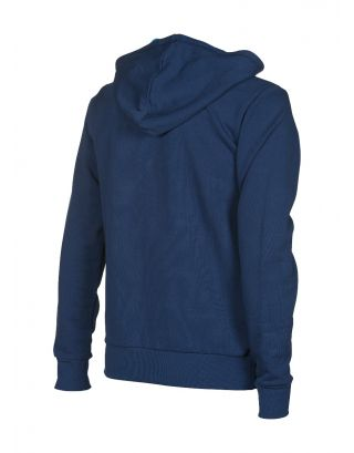 ARENA - FELPA - ESSENTIAL HOODED F/Z JACKET - 001048700 - NAVY