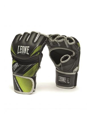 LEONE - GUANTI MMA - BLITZ - GP111 - BLACK/GREEN
