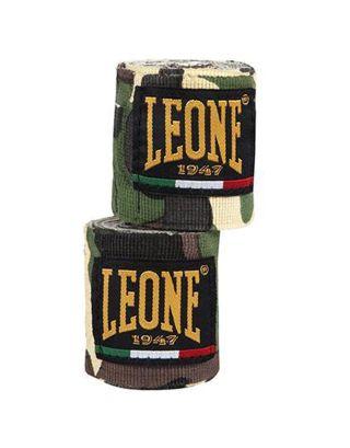 LEONE - BENDAGGI/HAND WRAPS - 3,5M - AB705 - CAMOU GREEN