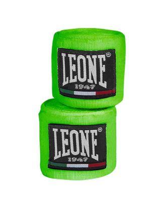 LEONE - BENDAGGI/HAND WRAPS - 3,5M - AB705 - FLUO GREEN