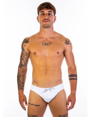EMPORIO ARMANI - COSTUME SLIP/BRIEF - 211730 1P407 00010 - WHITE