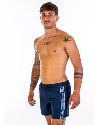 EMPORIO ARMANI - COSTUME SHORT - BANDA  - 211740 1P443 06935 - NAVY BLUE