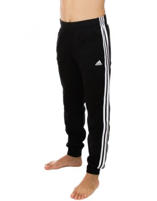 ADIDAS - PANTALONE UOMO - ESSENTIALS 3-STRIPES - BR3696 - BLACK/WHITE