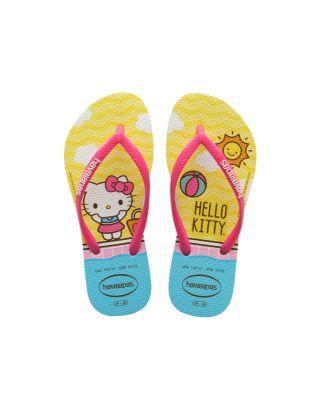 HAVAIANAS - INFRADITO BABY - HELLO KITTY - 4145748-0001 - WHITE