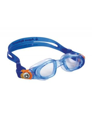 AQUASPHERE - OCCHIALINO MOBY KID - 189.100 - BLUE/ORANGE, CLEAR LENSES