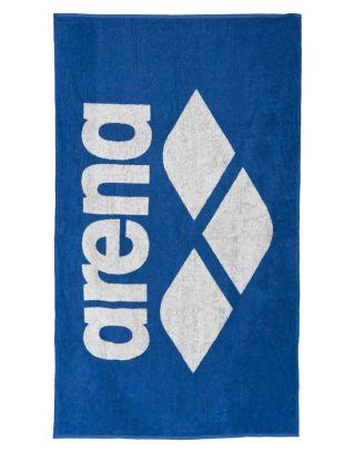ARENA - TELO SPUGNA - POOL SOFT TOWEL - 150x90cm - 001993810 - ROYAL/WHITE