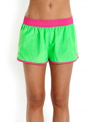 "SPEEDO - COSTUME SHORT COLOUR MIX 10"" - GREEN/PINK - 10-383-A652"
