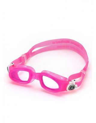 AQUASPHERE - OCCHIALINO JUNIOR - MOBY KID - 189.090 - PINK//WHITE, CLEAR LENSES