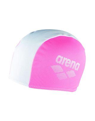 ARENA - CUFFIA POLYESTER II JUNIOR CAP - 002468910 - NEON PINK/WHITE