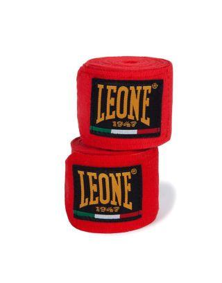 LEONE - BENDAGGI/HAND WRAPS - 3,5M - AB705 - RED