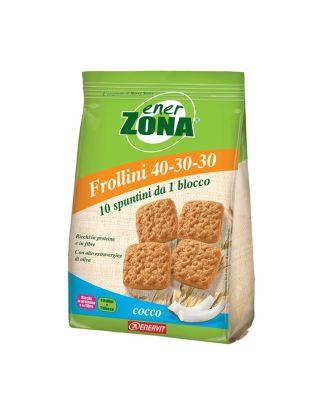ENERZONA - FROLLINI COCCO - 250g - scad. 18/12/21 - 93004