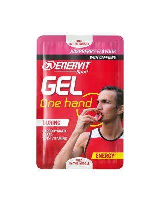 ENERVIT - SPORT GEL ONE HAND (12,5ml) - RASPBERRY - 96602 - scad. 06/22