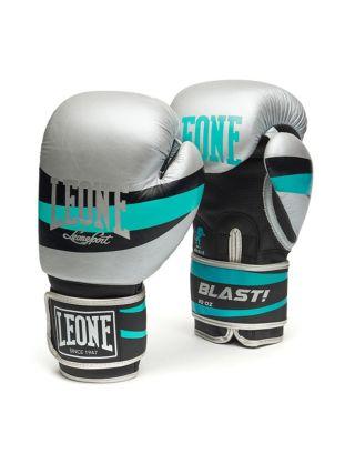 LEONE - GUANTONI BOXE - BLAST - GN203 - SILVER