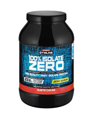 ENERVIT GYMLINE MUSCLE - 100% ISOLATE ZERO-SCAD. 08/01/22-92875-CACAO-900g