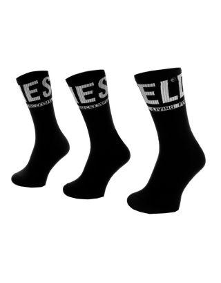 DIESEL - 3-PACK - CALZE/SOCKS - 00SAYJ 0QATV E4101 - BLACK