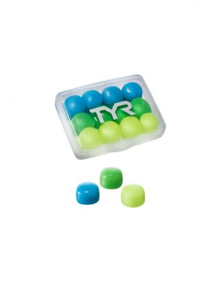 TYR - TAPPI SILICONE JUNIOR - YOUTH SILICONE EAR PLUGS (6 PAIRS) - LEPY12PK-970 - MULTI