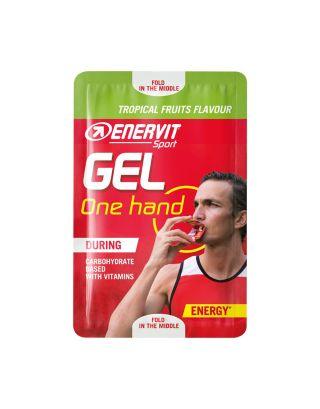 ENERVIT - SPORT GEL ONE HAND (12,5ml) - TROPICAL FRUITS - 96601 - scad. 31/05/22