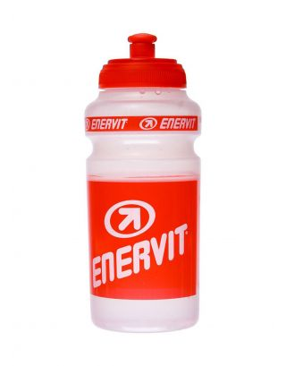 ENERVIT - BORRACCIA 600 ML - CLEAR/RED