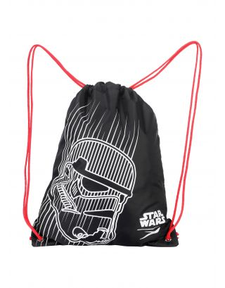 SPEEDO - SACCA - STAR WARS TROOPER BAG - 12L - 08034C629 - BLACK/RED