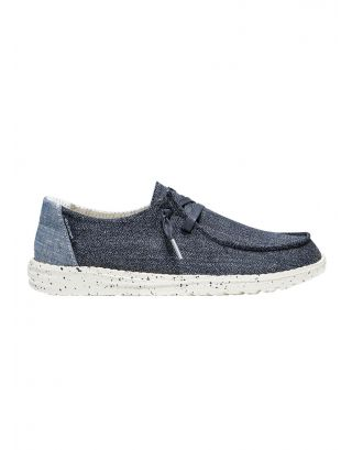 DUDE - SCARPA DONNA - WENDY CHAMBRAY - 121412666 -  SPARLING BLUE