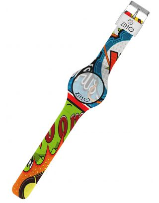 ZITTO - OROLOGIO LIMITED - WATERPROOF 100M - COMICS - 36mm - X-PLOSION