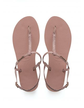 HAVAIANAS - INFRADITO DONNA - YOU RIVIERA CROCO - 4140122-7939 - ROSE NUDE