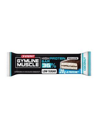 ENERVIT GYMLINE - HIGH PROTEIN BAR 36% COCONUT - SCAD. 14/11/20 - SENZA GLUTINE - 92876 - 55g