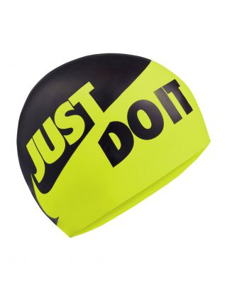 NIKE - CUFFIA SILICONE - SLOGAN CAP - 9164-737 - BACK/YELLOW