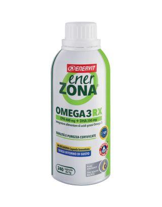 ENERZONA - FLACONE OMEGA 3RX-(EPA+DHA - 240 CPS DA 1G) -SCAD. 04/09/22