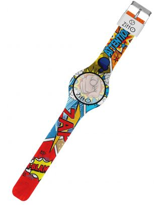ZITTO - OROLOGIO LIMITED - WATERPROOF 100M - COMICS - 36mm - INCEPTION