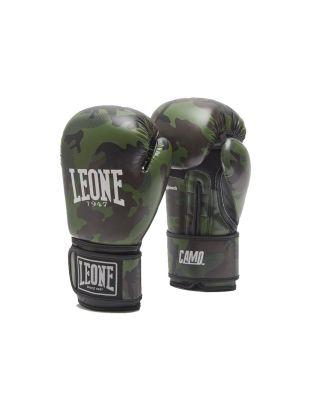 LEONE - GUANTONI BOXE BOXE - GN324 - CAMO GREEN