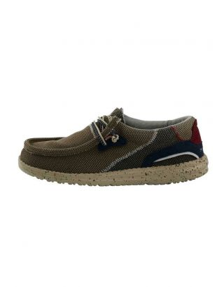 DUDE - SCARPA UOMO - WALLY HAWK - 112251600 - NUT
