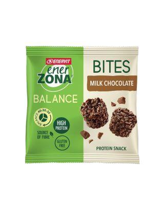 ENERZONA - BITES - MILK CHOCOLATE - MINIPACK 24g - 97249 - scad. 02/10/22