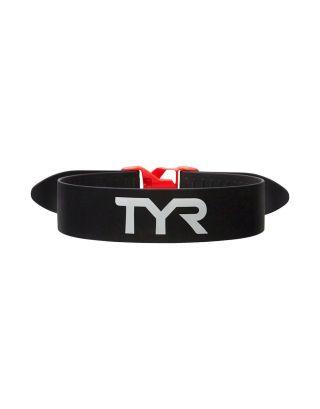 TYR - ELASTICO FERMA CAVIGLIE - TRAINING PULL STRAP . LTAS-002 - BLACK/RED