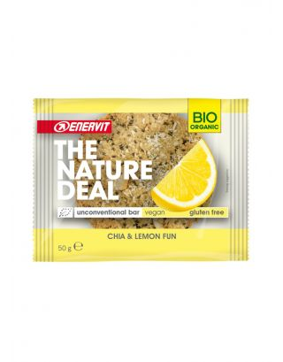ENERVIT - 98812 - 50g - 06/04/2021 - THE NATURE DEAL UNCONVENTIONAL BAR CHIA & LEMON FUN