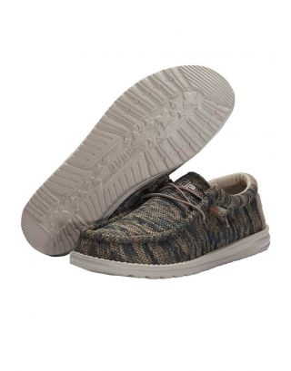DUDE - SCARPA UOMO - WALLY SOX - 110358339 - WOODLAND CAMO