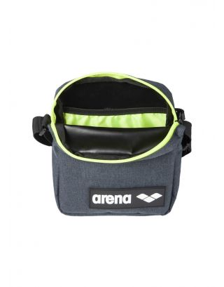 ARENA - TEAM CROSSBODY BAG - 19x16x4.5cm - 003361510 - GREY MELANGE