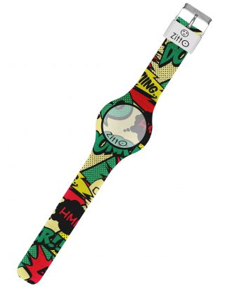 ZITTO - OROLOGIO LIMITED - WATERPROOF 100M - COMICS - 36mm - TOTAL ACTION