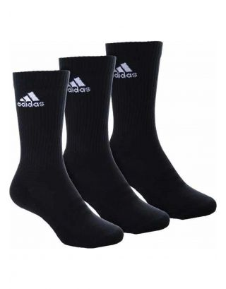 ADIDAS - CALZE/SOCKS - 3-STRIPES PERFORMANCE (3 PACK) - AA2298 - BLACK/WHITE