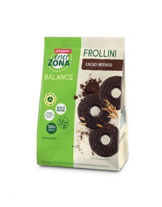 ENERZONA - FROLLINI CACAO INTENSO - 250g - scad. 21/11/21 - 93026