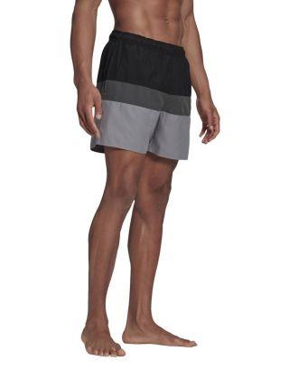 ADIDAS - COSTUME SHORT - BLOCK COLOURS - GM2219 - BLACK/GREY