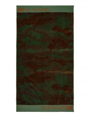 SUNDEK - TELO MARE - MARYON - AM329ATC1053-497 - DEEP FOREST #2 - SPUGNA 184x100cm