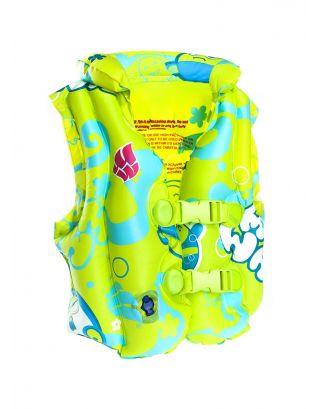 MAD WAVE - GIUBBOTTO SALVAGENTE GONFIABILE - INFLATABLE SWIMVEST - 3-6 YEARS - M075602007W - YELLOW