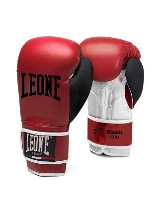 LEONE - GUANTONI BOXE FLASH - GN083 - RED