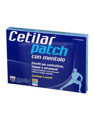 PHARMANUTRA - CETILAR® PATCH CON MENTOLO - CEROTTI ARTICOLAZIONE MUSCOLI TENDINI (5 PACK) scad. 12/22