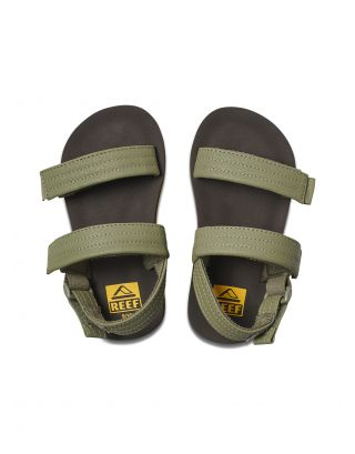 REEF - SANDALO JUNIOR - LITTLE AHI CONVERTIBLE - BOV - BROWN/OLIVE